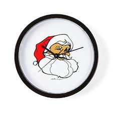 Santa Clause Wall Clock