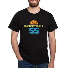 Custom Basketball Player 55 T-Shirt
