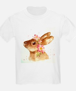 EASTER BONNET WITH FLOWERS T-Shirt