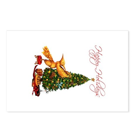 Mockingjay Happy Holidays Postcards (Package Of 8)