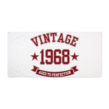 1968 Vintage Aged to Perfection Beach Towel