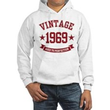 1969 Vintage Aged to Perfection Hoodie