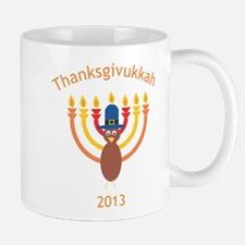Thanksgivukkah 2013 Mugs