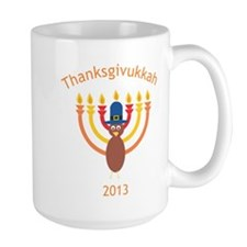 Thanksgivukkah 2013 Mug