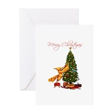 Mockingjay Merry Christmas Greeting Card