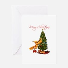 Mockingjay Merry Christmas Greeting Card