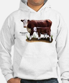 Hereford Cow and Calf Hoodie