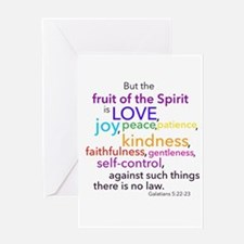 Fruits of the Spirit Greeting Card