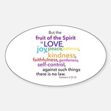 Fruits of the Spirit Decal