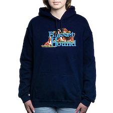 Basset Hounds Namegames Hooded Sweatshirt
