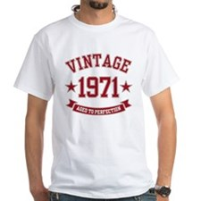 1971 Vintage Aged to Perfection Shirt
