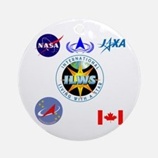 ILWS Composite Logo Ornament (Round)