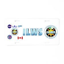 ILWS Composite Logo Aluminum License Plate
