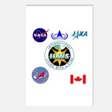 ILWS Composite Logo Postcards (Package of 8)