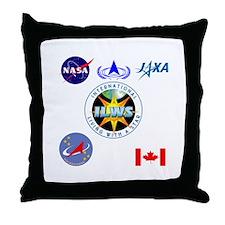 ILWS Composite Logo Throw Pillow