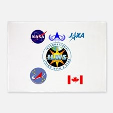 ILWS Composite Logo 5'x7'Area Rug