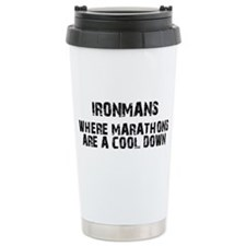 Cute Half ironman Travel Mug