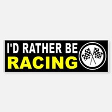 RACING Bumper Bumper Bumper Sticker
