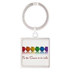 gay pride ornaments Keychains
