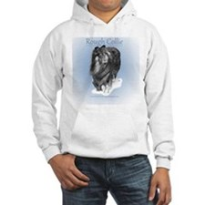 Porcelain Rough Collie Hoodie