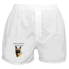 GSD Longhair BSL1 Boxer Shorts