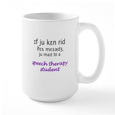 MIGHT BE A SPEECH THERAPY STU Mugs