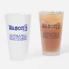The Meaning of Mason Drinking Glass