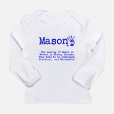 The Meaning of Mason Long Sleeve T-Shirt