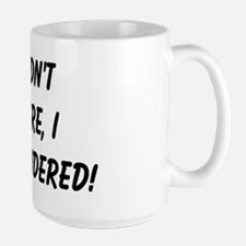 retirement surrendered Large Mug