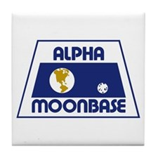 Moonbase Alpha Tile Coaster