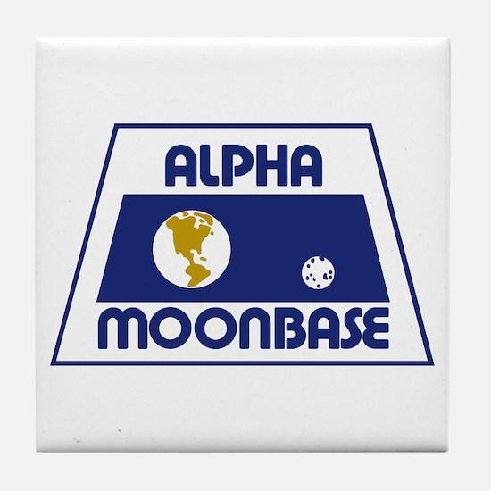 Moonbase Alpha Tile Coaster