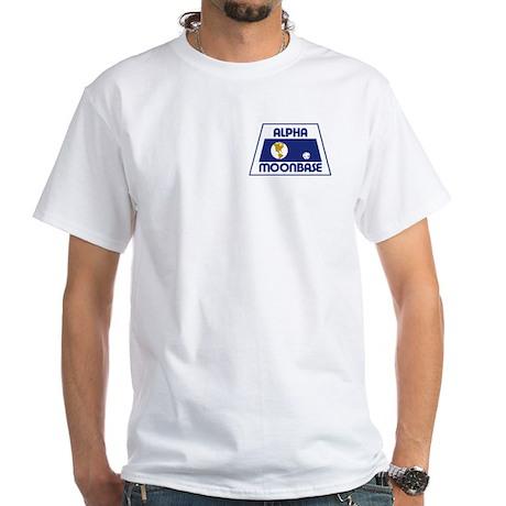 Moonbase Alpha White T-Shirt
