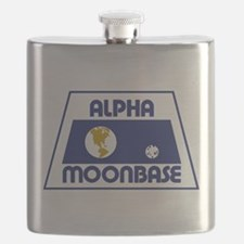 Moonbase Alpha Flask