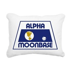 Moonbase Alpha Rectangular Canvas Pillow
