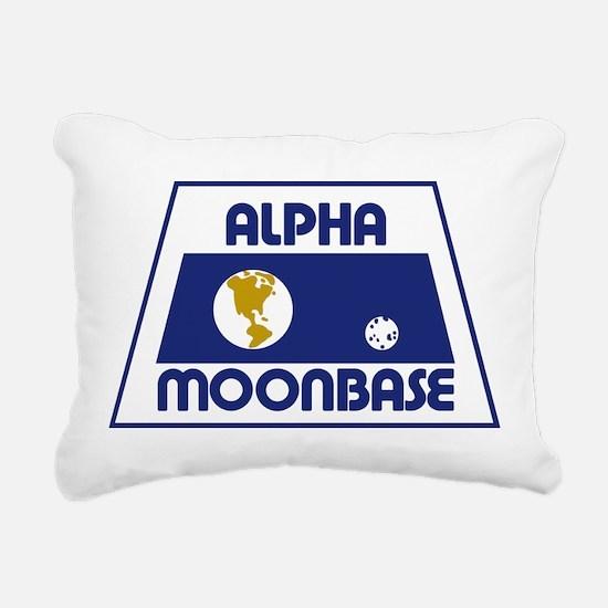 Moonbase Alpha Rectangular Canvas Pillow