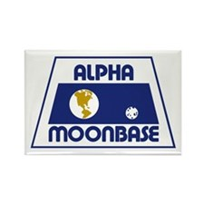 Moonbase Alpha Rectangle Magnet