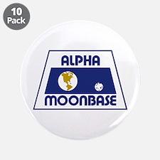 "Moonbase Alpha 3.5"" Button (10 pack)"