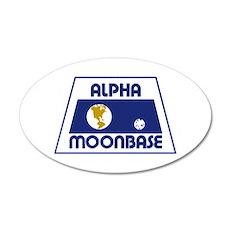 Moonbase Alpha Wall Sticker