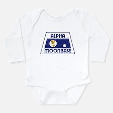 Moonbase Alpha Long Sleeve Infant Bodysuit
