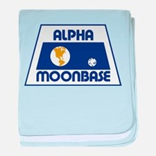 Moonbase Alpha baby blanket