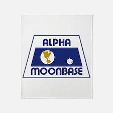 Moonbase Alpha Throw Blanket