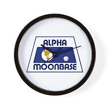 Moonbase Alpha Wall Clock