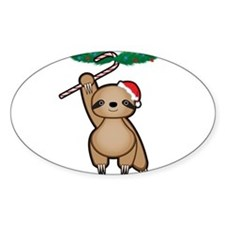 Holiday Sloth Decal