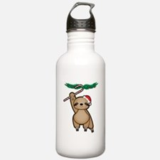 Holiday Sloth Water Bottle