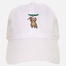 Holiday Sloth Baseball Baseball Baseball Cap