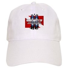 Diver Safety Tip Baseball Baseball Cap