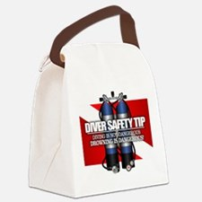 Diver Safety Tip Canvas Lunch Bag