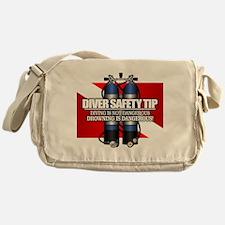 Diver Safety Tip Messenger Bag
