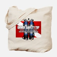 Diver Safety Tip Tote Bag