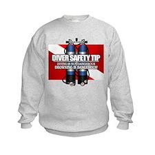 Diver Safety Tip Sweatshirt
